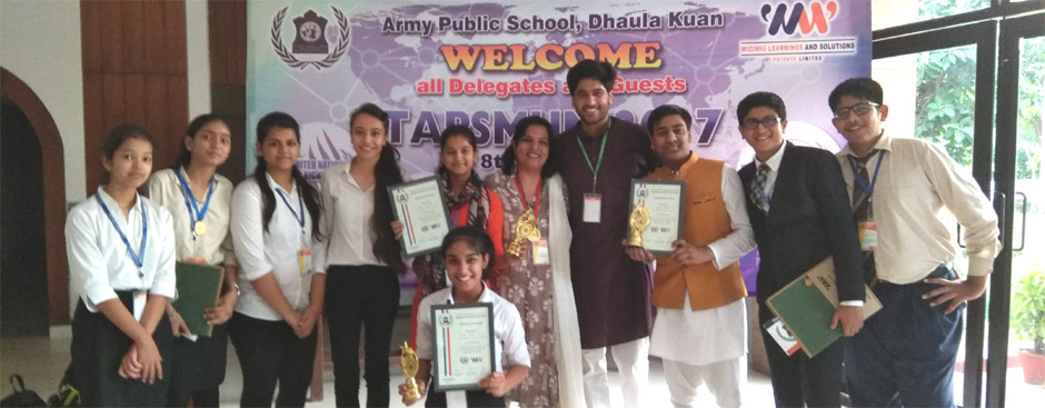 St. Mark's School, Meera Bagh - Model United Nations hosted by Army Public  School