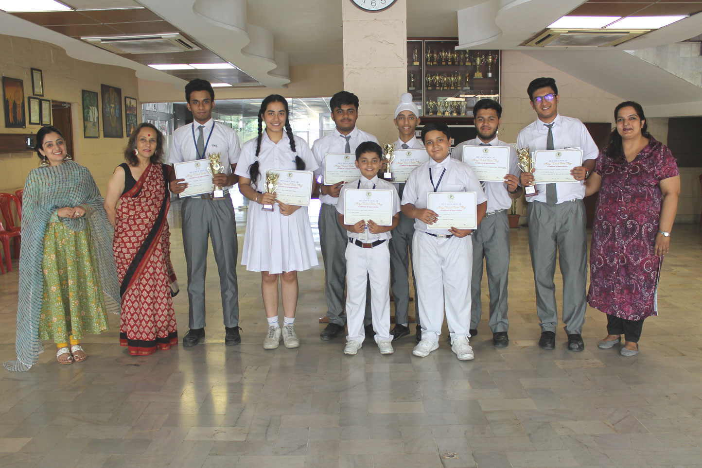 Inter School Competitions - St  Mark's Sr  Sec  Public School, Meera
