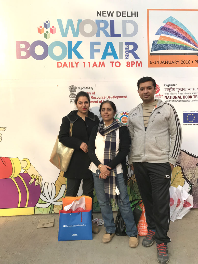 My First Visit to London Book Fair