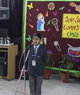 Intra School Competitions : St  Mark's Sr  Sec  Public